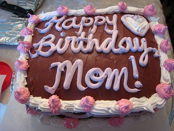 birthday cake for mother
