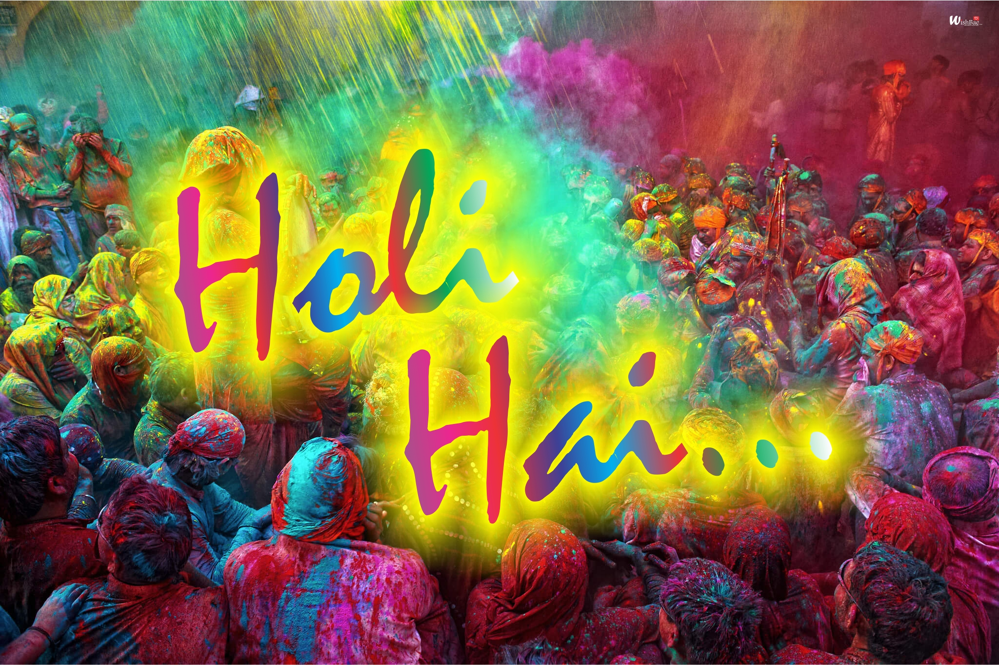 holi hai wishes