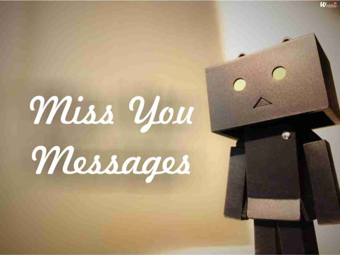 miss you messages