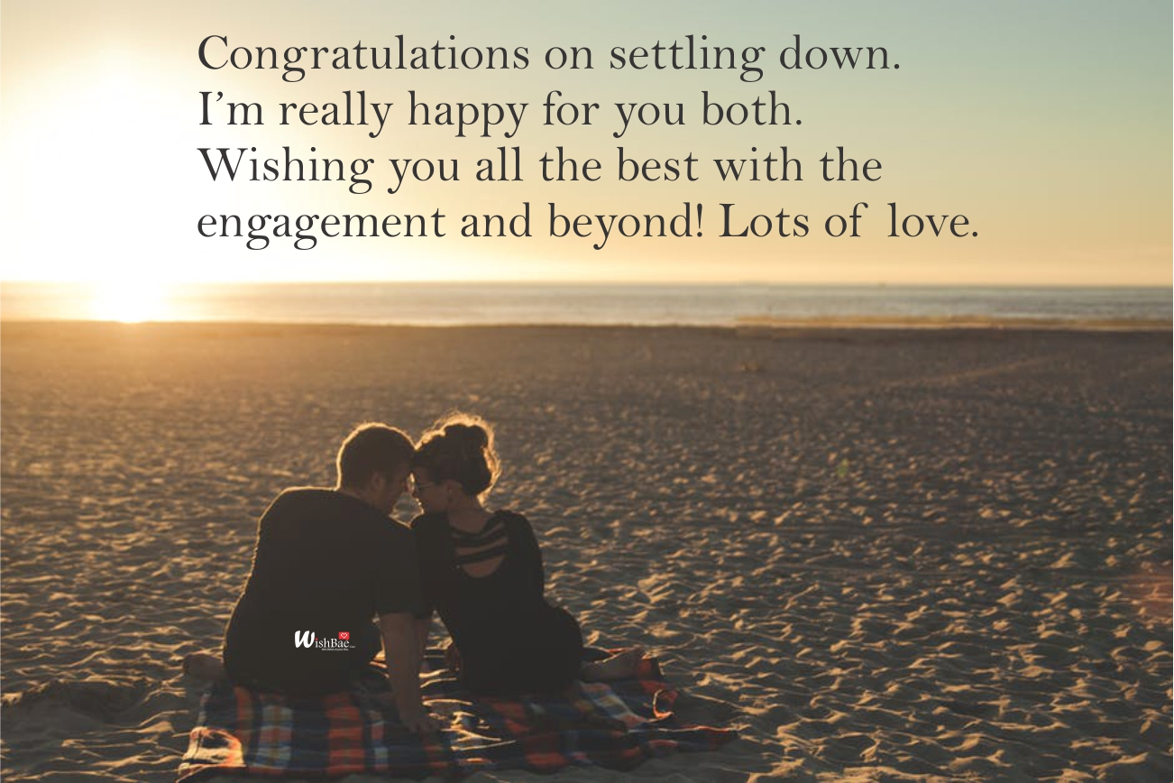 wishes for newly engaged couple