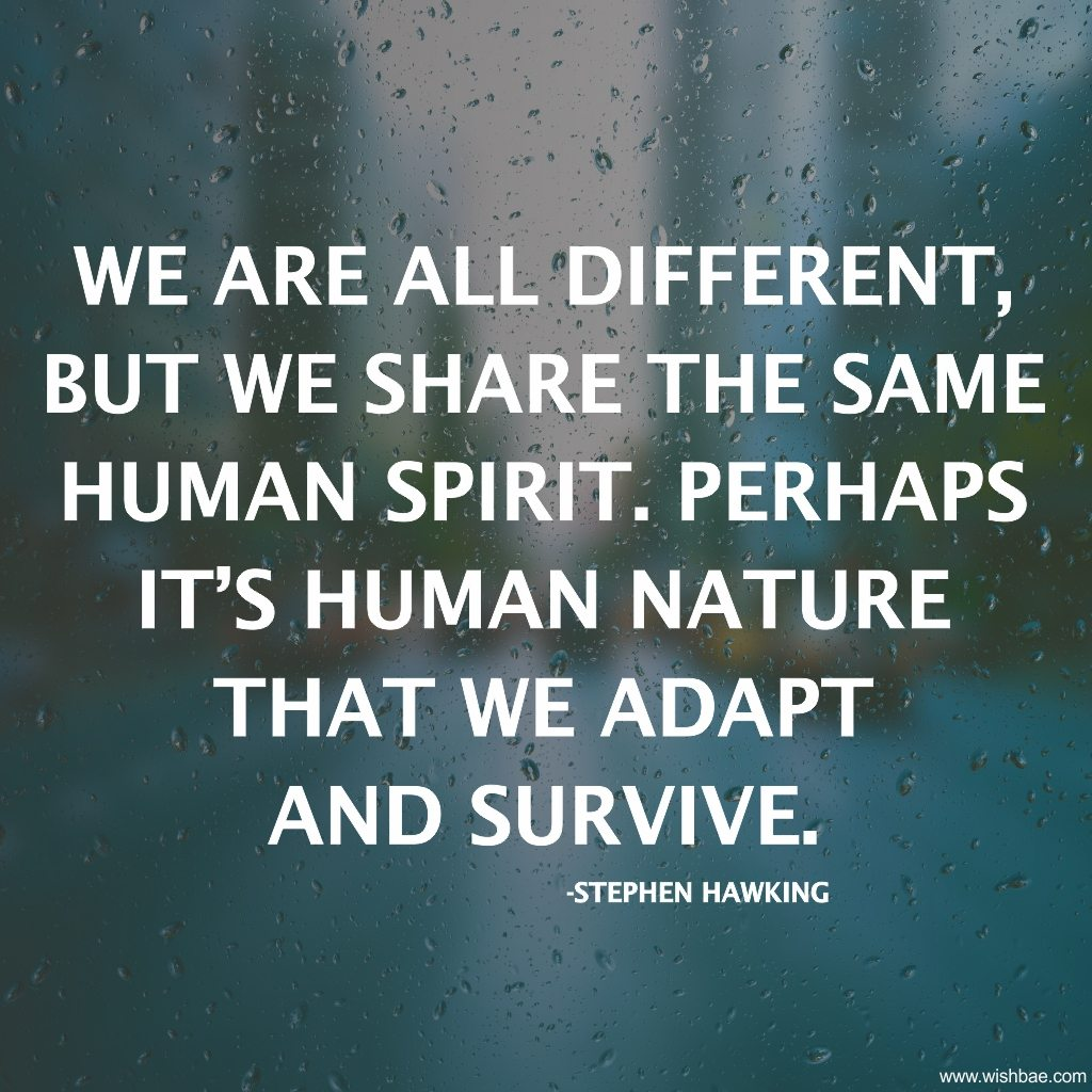 adapt and survive