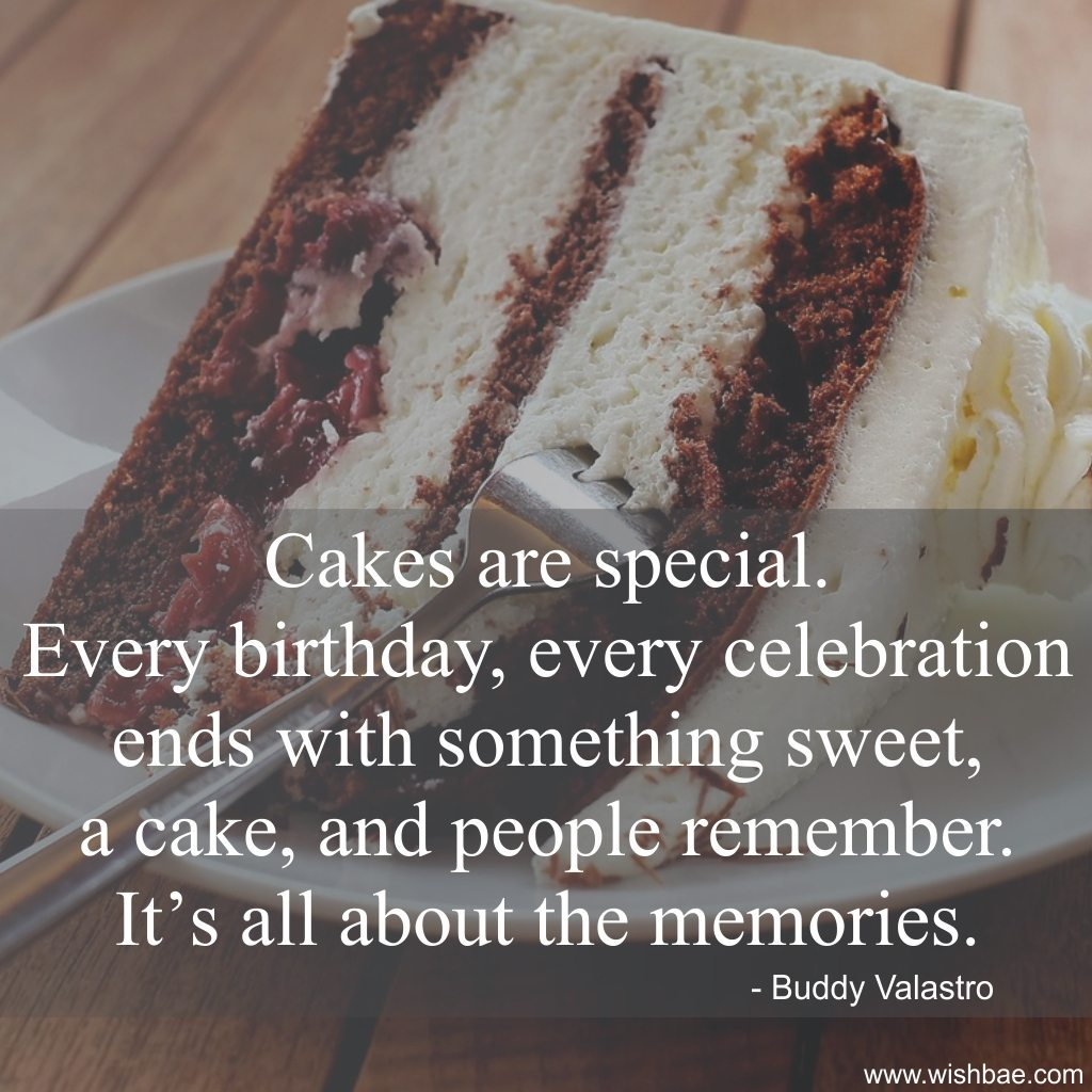 cakes are special
