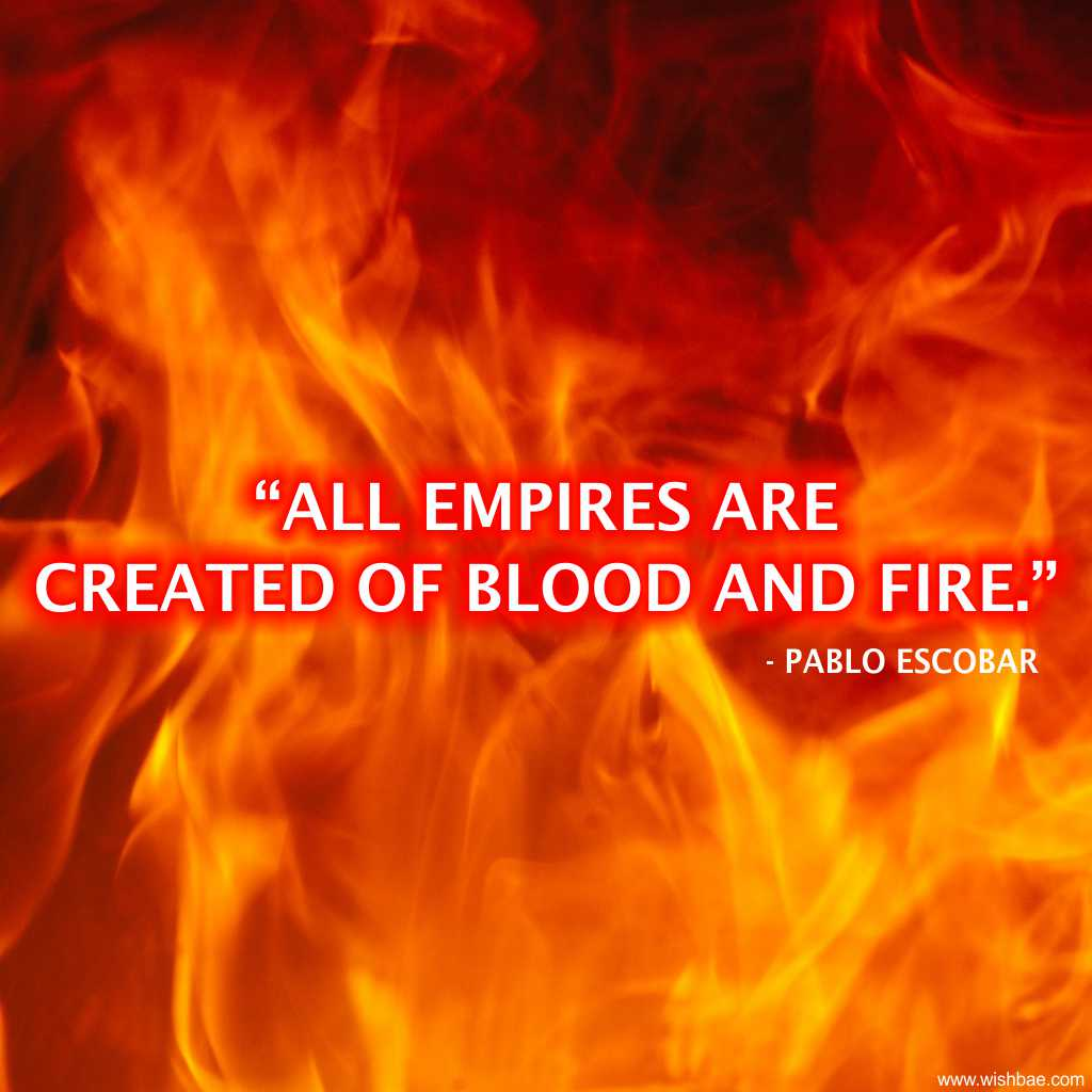 empire quote pablo