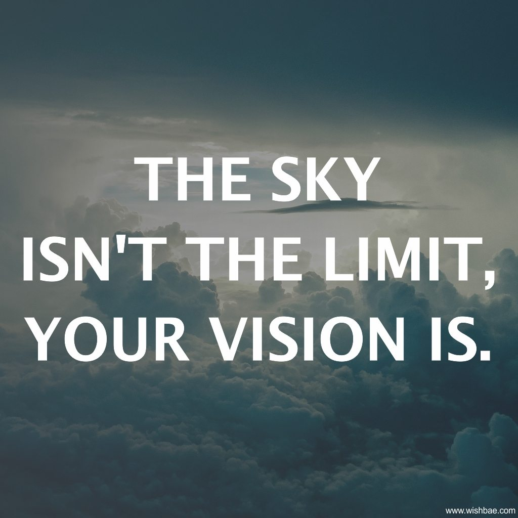 sky in not the limit