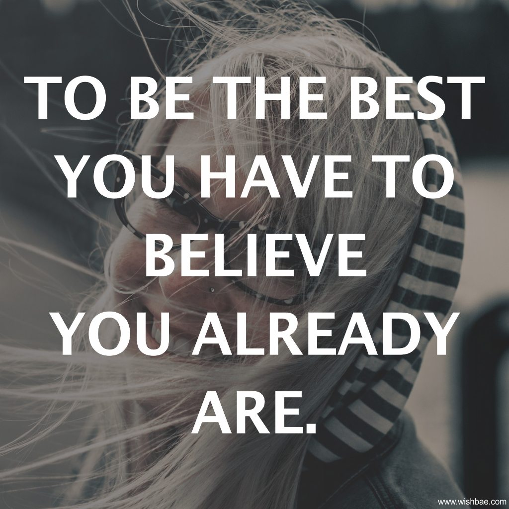 be the best quote