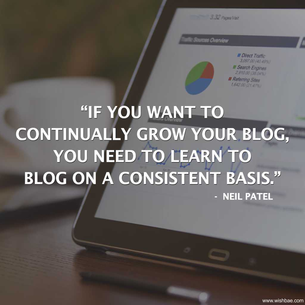 blogging quotes neil patel
