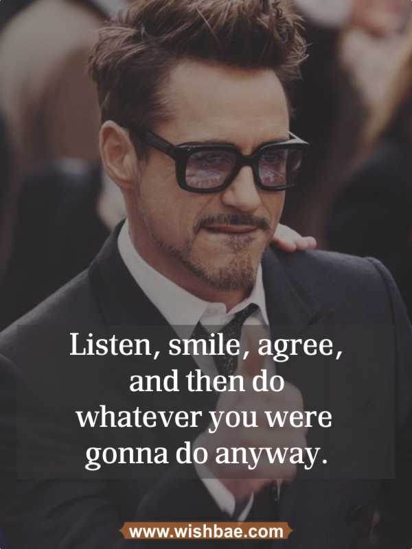 funny motivational quote robert downey