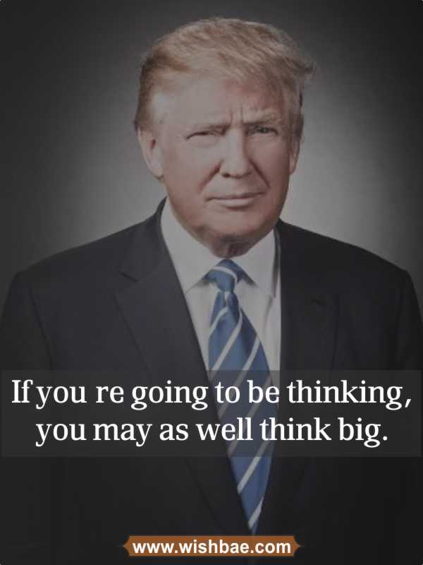 motivational quote donald trump