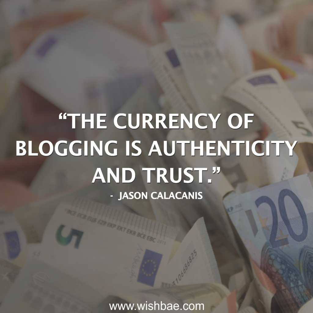 quotes about blogging