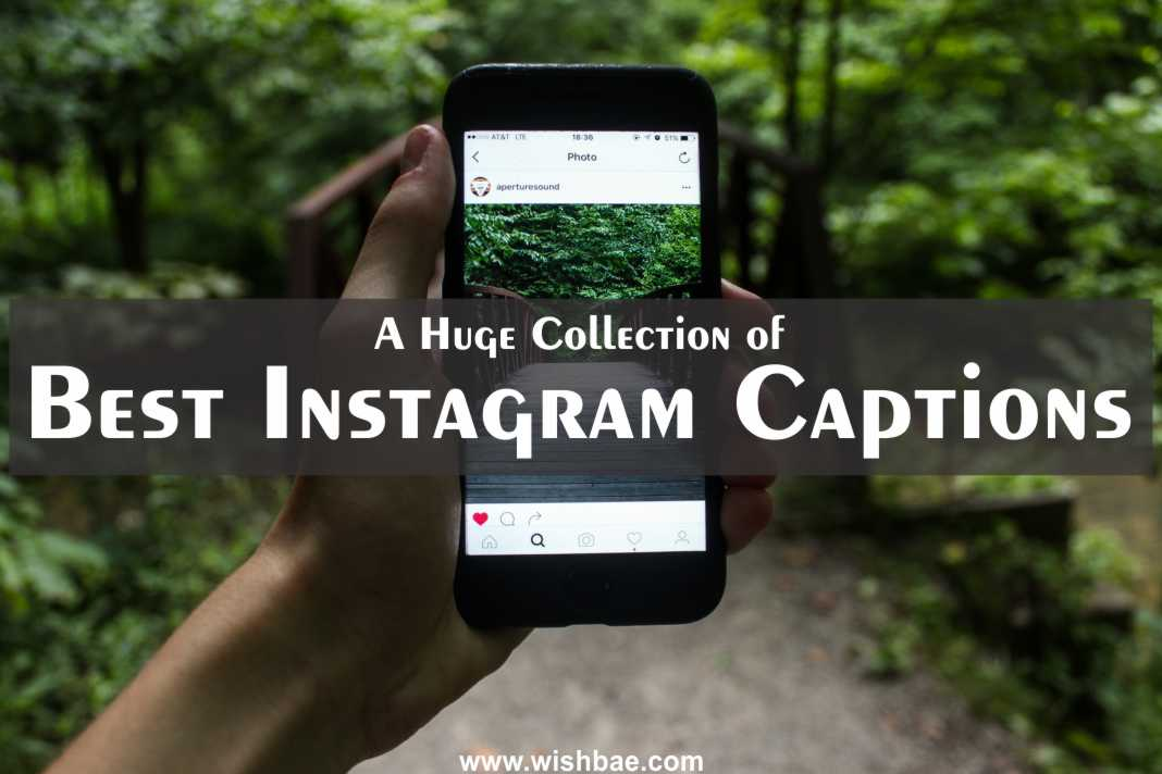 Best Instagram Captions – Cool, Good, Funny, Cute and Selfie ...