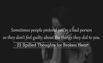 spilled thoughts