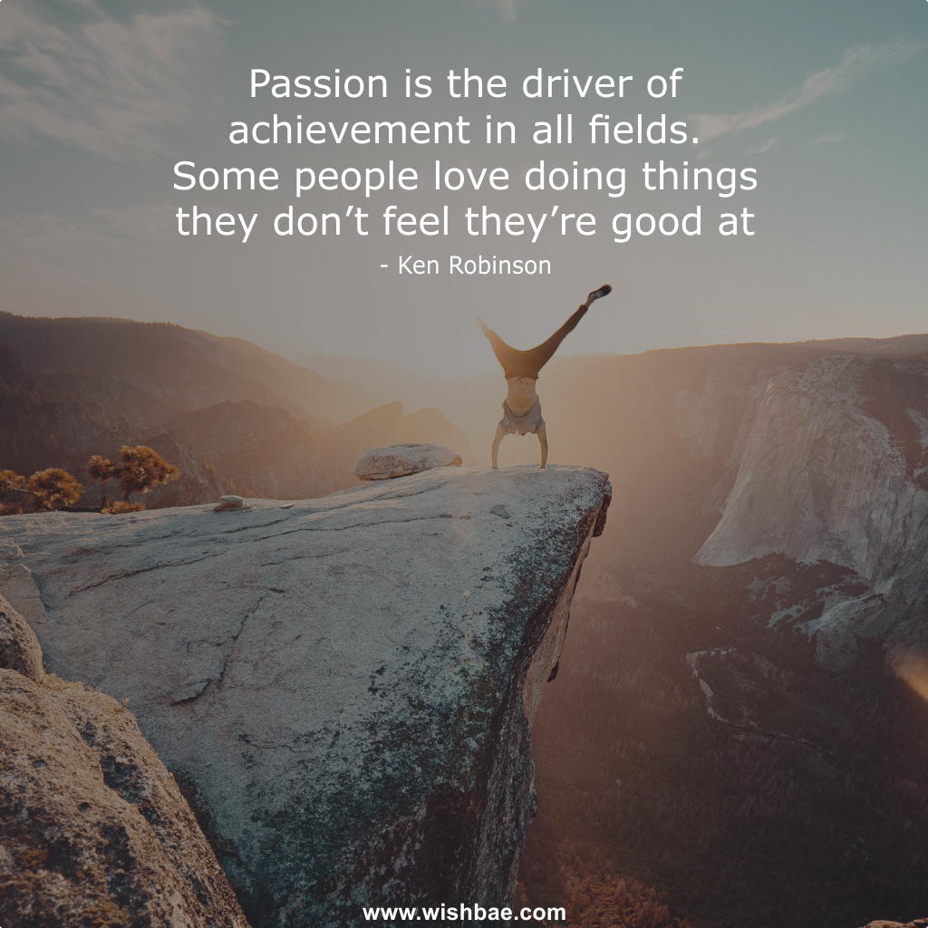 Ken Robinson Passion Quotes